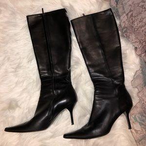 Adrienne Vittadini leather boots